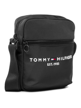 Tommy Hilfiger Tommy Hilfiger Válltáska Th Established Mini Reporter AM0AM07229 Fekete