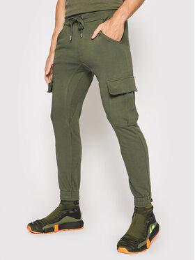 Alpha Industries Alpha Industries Spodnie dresowe Terry Jogger 116204 Zielony Regular Fit