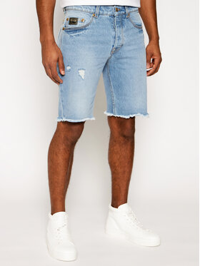 Versace Jeans Couture Versace Jeans Couture Kratke traperice A4GWA17I Plava Regular Fit