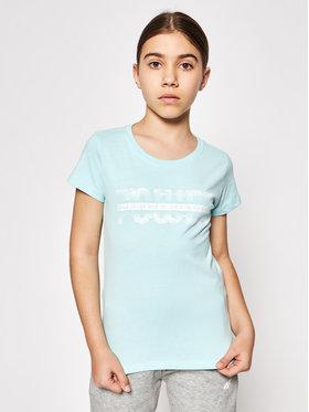 4F 4F T-shirt HJL21-JTSD007A Verde Regular Fit