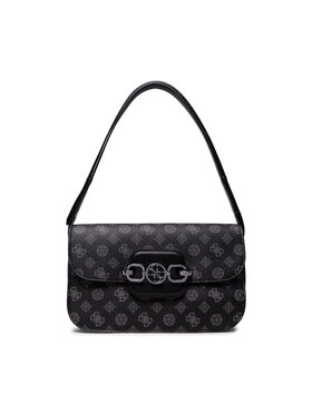 Guess Guess Дамска чанта Hensely Logo HWPM83 78210 Черен