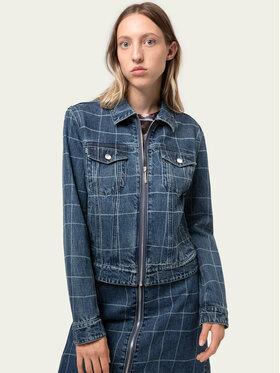 Hugo Hugo Kurtka jeansowa Alex/6 50430435 Granatowy Slim Fit