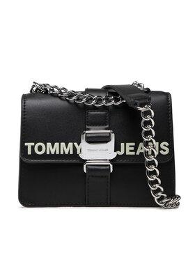 Tommy Jeans Tommy Jeans Torebka Tjw Rec Pu Item Crossover AW0AW10676 Czarny
