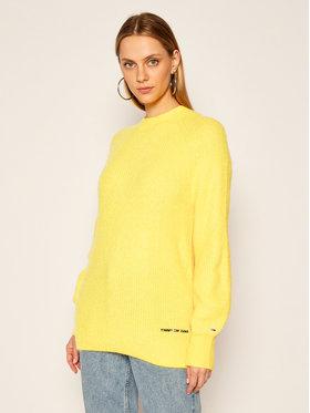Tommy Jeans Tommy Jeans Sweter Lofty Yarn DW0DW09137 Żółty Relaxed Fit