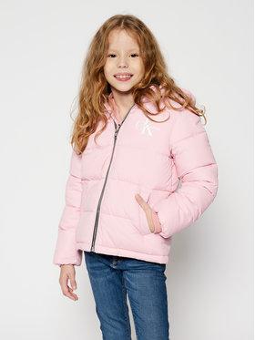 Calvin Klein Jeans Calvin Klein Jeans Kurtka puchowa Essential IG0IG00593 Różowy Regular Fit