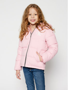 Calvin Klein Jeans Calvin Klein Jeans Vatovaná bunda Essential IG0IG00593 Ružová Regular Fit