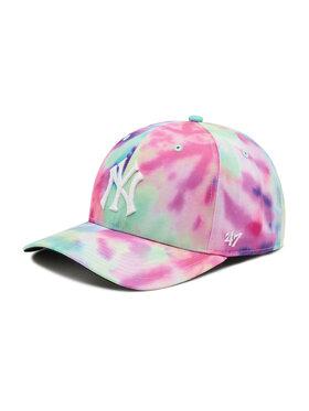47 Brand 47 Brand Шапка с козирка New York Yankees B-TDMVP17PTP-WH Цветен
