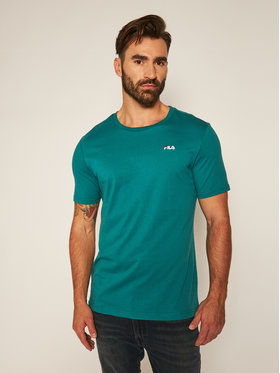 Fila Fila T-Shirt Unwind 682201 Zelená Regular Fit