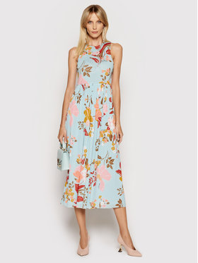 Marella Marella Sukienka letnia Odesssa 36210512 Niebieski Regular Fit