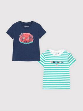 Mayoral Mayoral Set di 2 T-shirt 1015 Multicolore Regular Fit