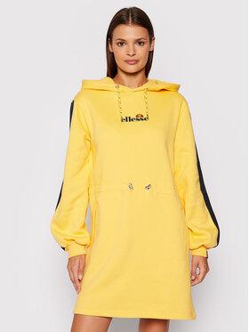Ellesse Ellesse Každodenné šaty SGK12174606 Žltá Regular Fit