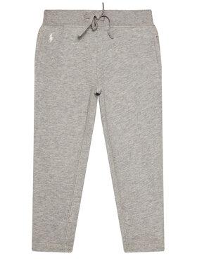Polo Ralph Lauren Polo Ralph Lauren Spodnie dresowe Fleece Leggi 313698768004 Szary Slim Fit