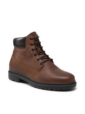 Geox Geox Šnurovacia obuv U Andalo F U16DDF 00045 C6003 Hnedá