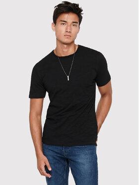 Only & Sons ONLY & SONS T-Shirt Albert 22005108 Schwarz Regular Fit