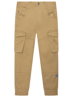 NAME IT NAME IT Текстилни панталони Bamgo 13151735 Кафяв Regular Fit