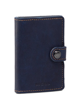Secrid Secrid Malá pánska peňaženka Miniwallet MIN Tmavomodrá