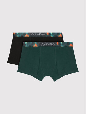 Calvin Klein Underwear Calvin Klein Underwear Komplektas: 2 poros trumpikių B70B700342 Žalia