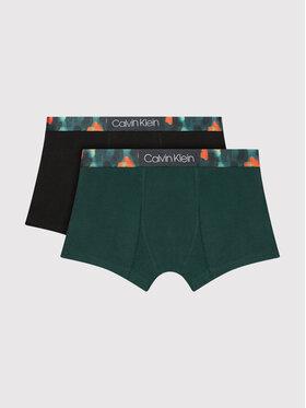 Calvin Klein Underwear Calvin Klein Underwear Komplet 2 par bokserek B70B700342 Zielony