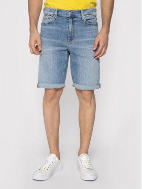 Calvin Klein Jeans Calvin Klein Jeans Džinsiniai šortai Denim J30J314647 Mėlyna Skinny Fit