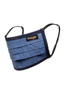 Wrangler Wrangler Sada 3 textilních roušek W0Y1YBX41 Tmavomodrá