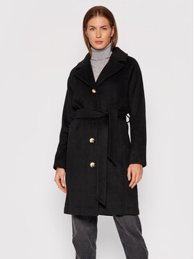 Selected Femme Selected Femme Вълнено палто Milan 16079496 Черен Regular Fit