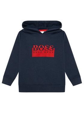 Boss Boss Bluza J25L97 S Granatowy Regular Fit