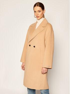 Marella Marella Demisezoninis paltas Nube 30161008 Smėlio Regular Fit