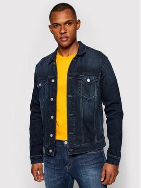 Tommy Jeans Tommy Jeans Jeansová bunda Trucker DM0DM09988 Tmavomodrá Regular Fit