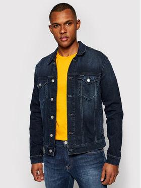 Tommy Jeans Tommy Jeans Kurtka jeansowa Trucker DM0DM09988 Granatowy Regular Fit