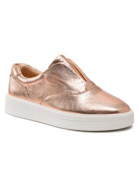 Clarks Clarks Sneakers aus Stoff Hero Step. 261497174 Goldfarben