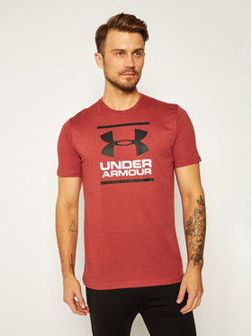 Under Armour Under Armour Тишърт Ua Gl Foundation 1326849 Бордо Loose Fit