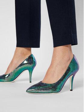 Pollini Pollini Обувки на ток SA10018C1CTK0700 Зелен