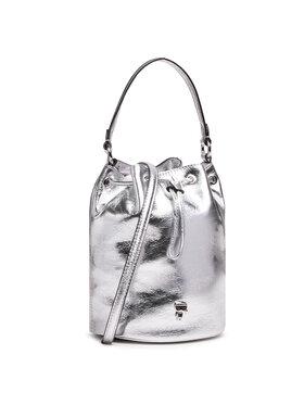 KARL LAGERFELD KARL LAGERFELD Handtasche 210W3078 Silberfarben