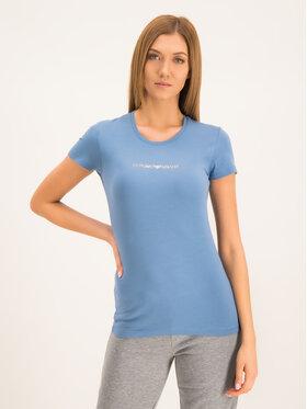 Emporio Armani Underwear Emporio Armani Underwear Tričko 163139 9A263 07234 Modrá Slim Fit