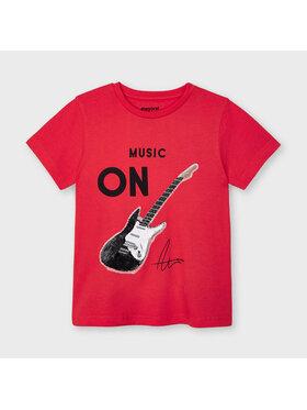 Mayoral Mayoral T-Shirt 3048 Czerwony Regular Fit