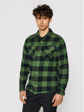 Dickies Dickies Риза Unisex New Sacramento DK0A4XDZPG01 Зелен Regular Fit