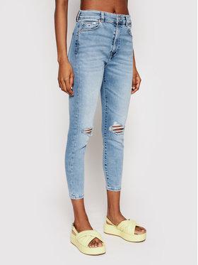 Tommy Jeans Tommy Jeans Blugi Sylvia DW0DW09870 Albastru Skinny Fit
