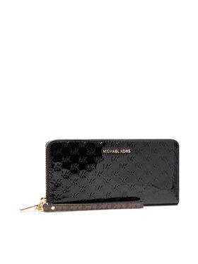 MICHAEL Michael Kors MICHAEL Michael Kors Velká dámská peněženka Jet Set 34F1GJ6T3A Černá