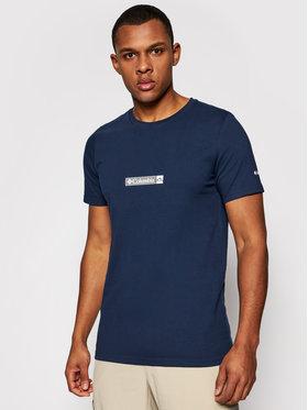 Columbia Columbia T-shirt Rapid Ridge 1934824 Blu scuro Regular Fit