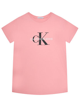 Calvin Klein Jeans Calvin Klein Jeans T-shirt Monogram Logo IU0IU00068 Rosa Regular Fit