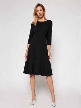 Calvin Klein Calvin Klein Koktejlové šaty Scuba K20K202418 Černá Regular Fit