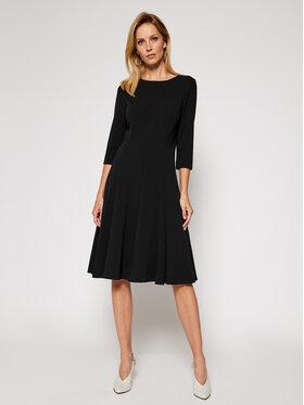 Calvin Klein Calvin Klein Sukienka koktajlowa Scuba K20K202418 Czarny Regular Fit