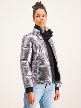 Ugg Ugg Vatovaná bunda Izzie Puffer Jacket Nylon 1105651 Stříbrná Regular Fit