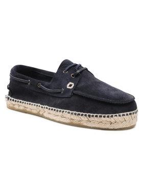 Manebi Manebi Espadrilky Boat Shoesk 1.5 K0 Tmavomodrá