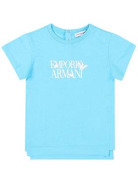 Emporio Armani Emporio Armani T-Shirt 3HHT02 4J09Z 0752 Blau Regular Fit