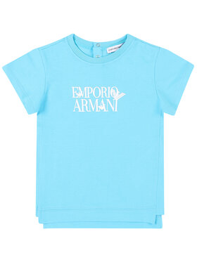 Emporio Armani Emporio Armani T-Shirt 3HHT02 4J09Z 0752 Niebieski Regular Fit