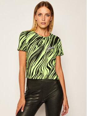 Guess Guess Marškinėliai Sophia Tee W0YI96 K9Z30 Žalia Regular Fit