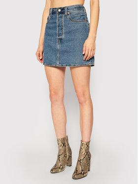 Levi's® Levi's® Džínsová sukňa Ribcage 27889-0001 Tmavomodrá Regular Fit