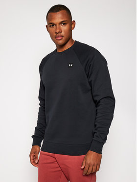 Under Armour Under Armour Bluză Ua Rival Fleece 1357096 Negru Loose Fit