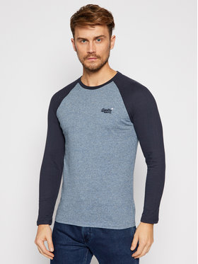 Superdry Superdry Hosszú ujjú Ol Baseball M6010145A Kék Regular Fit
